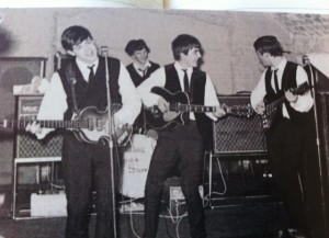 Beatles postcard
