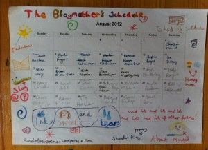 blog schedules 3