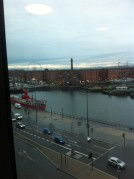 view from my central Liverpool Travelodge