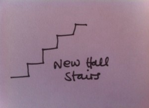 new hall stairs