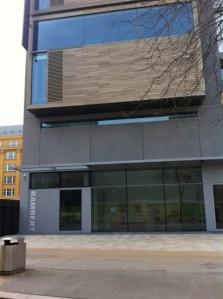 Rambert's new home at Upper Ground, London SE1
