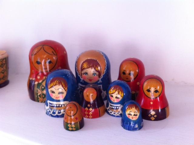 Russian dolls heads