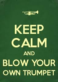 Keep calm and blow