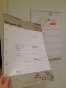 Calendars 2015 and 2016