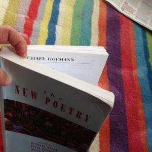 Hofmann inside Poetry anthology