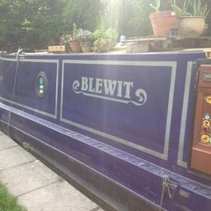 Blewit barge
