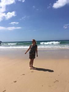 Me on beach 2016