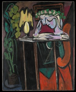 girl-reading-by-picasso